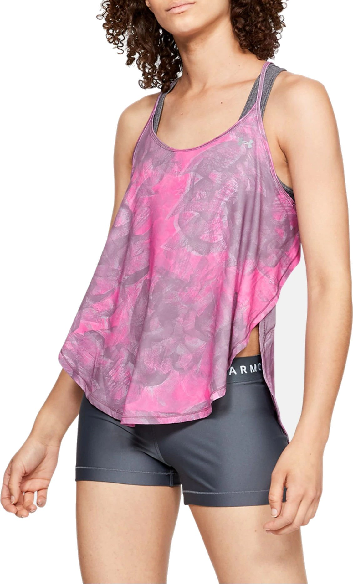 Magliette intime Under Armour Armour Sport Tank - Flo Ink Print