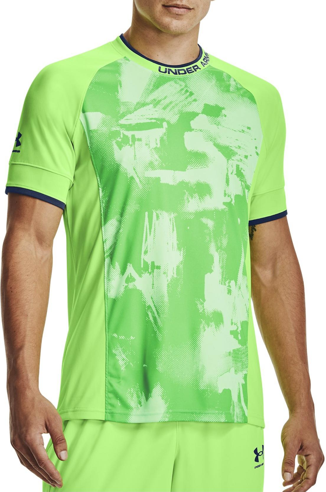 Magliette Under Armour Challenger III Novelty Top-GRN