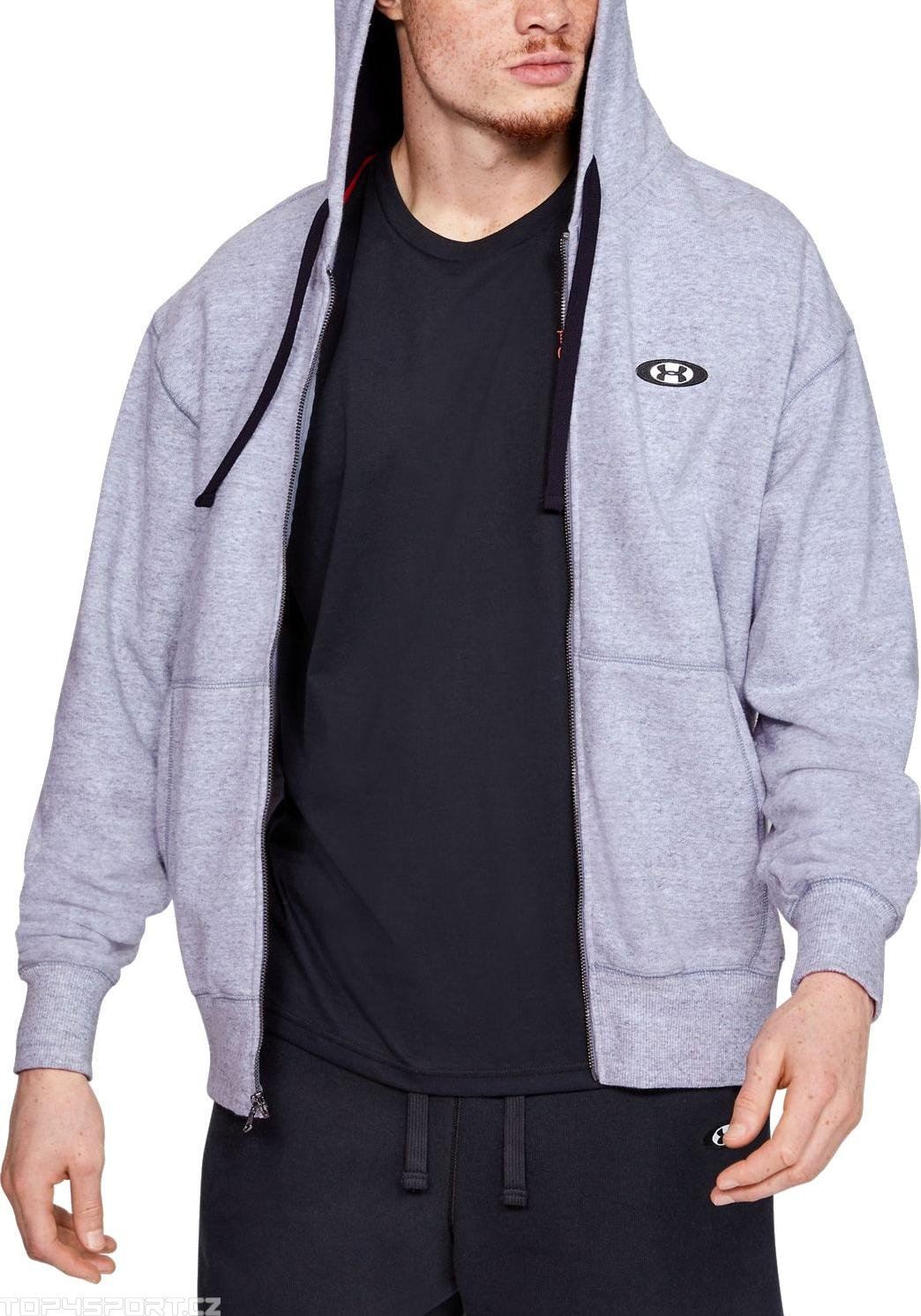 Felpe con cappuccio Under Armour UA PERFORMANCE ORIGINATORS FLEECE FZ