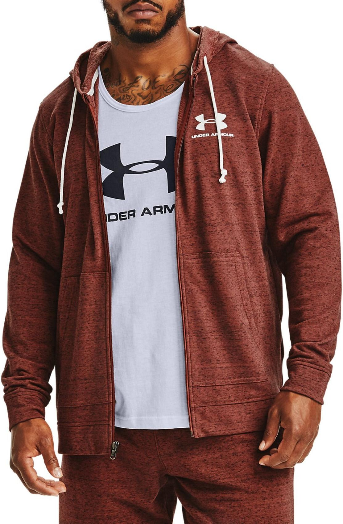 Felpe con cappuccio Under Armour SPORTSTYLE TERRY FZ