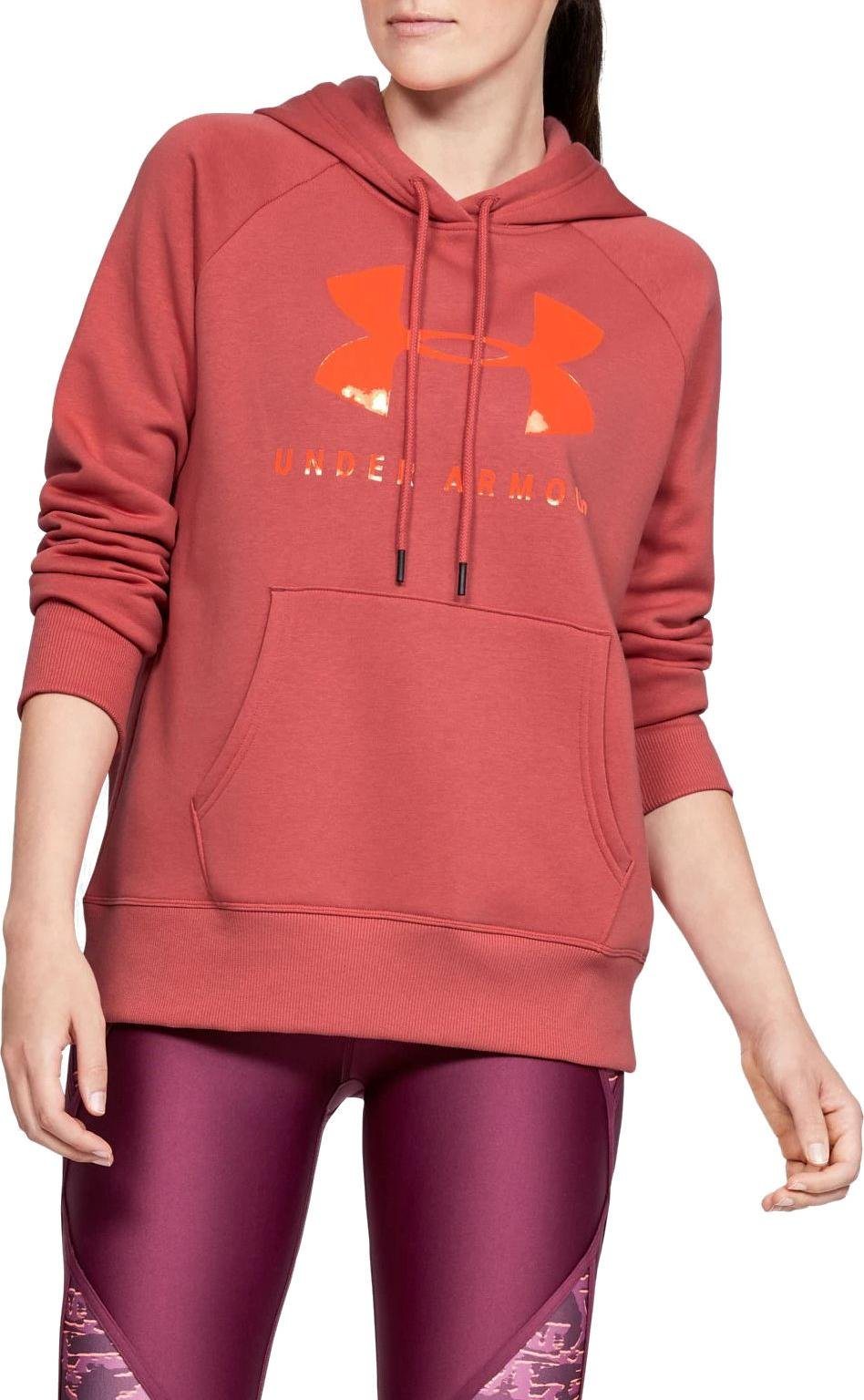 Felpe con cappuccio Under Armour RIVAL FLEECE SPORTSTYLE GRAPHIC HOODIE